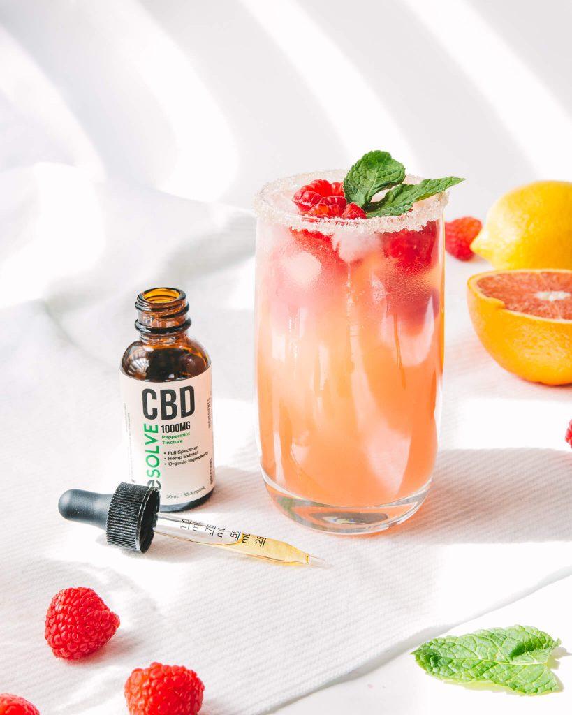 Refreshing CBD Infused Kombucha Fresca