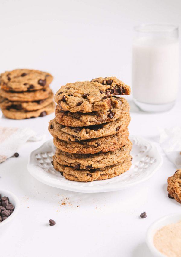 Maca Chocolate Chip Cookies