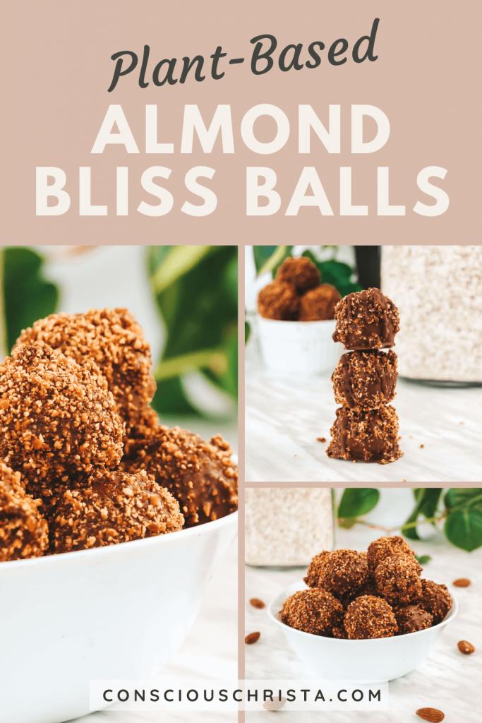 Almond Bliss Balls | Conscious Christa