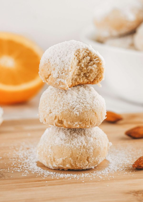 Vegan Italian Almond Cookies | Conscious Christa