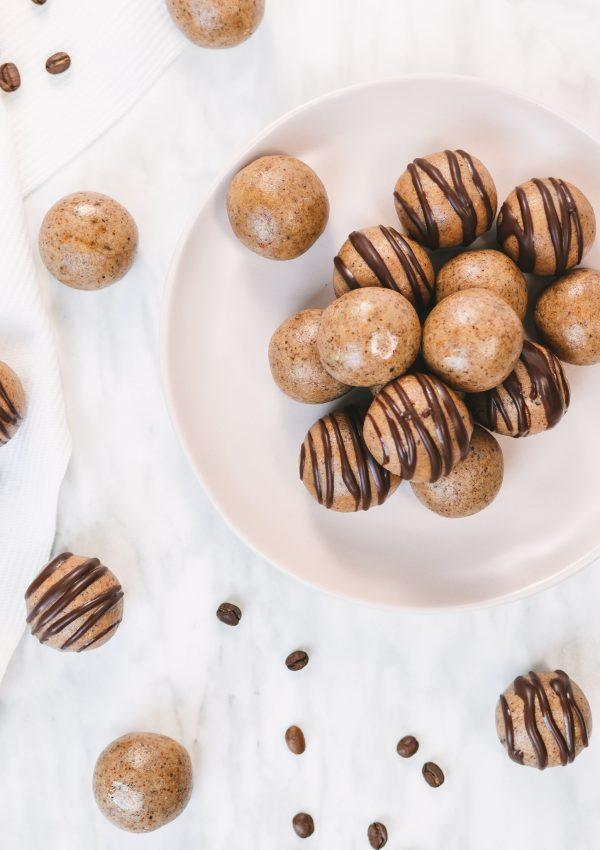 Coffee Wafer Protein Balls