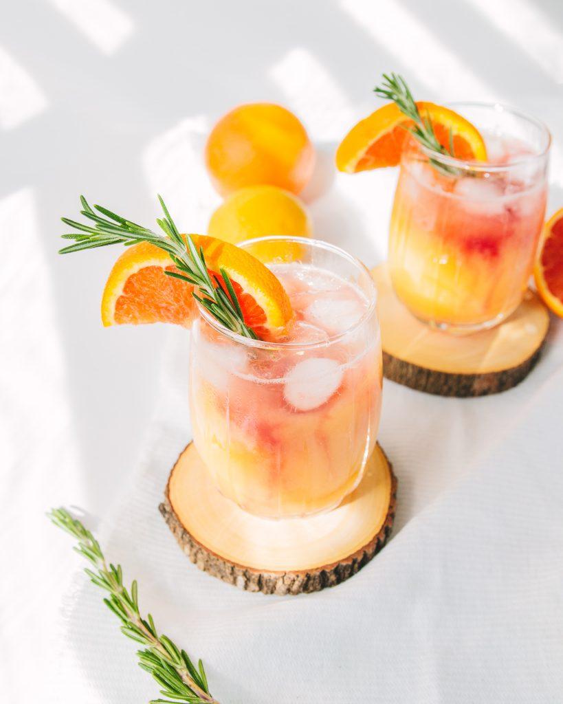 Orange Spritzer with Vitamin D