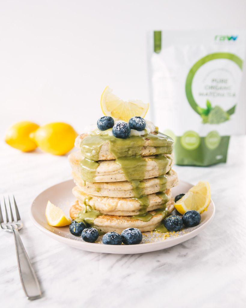 Matcha Pancake Glaze