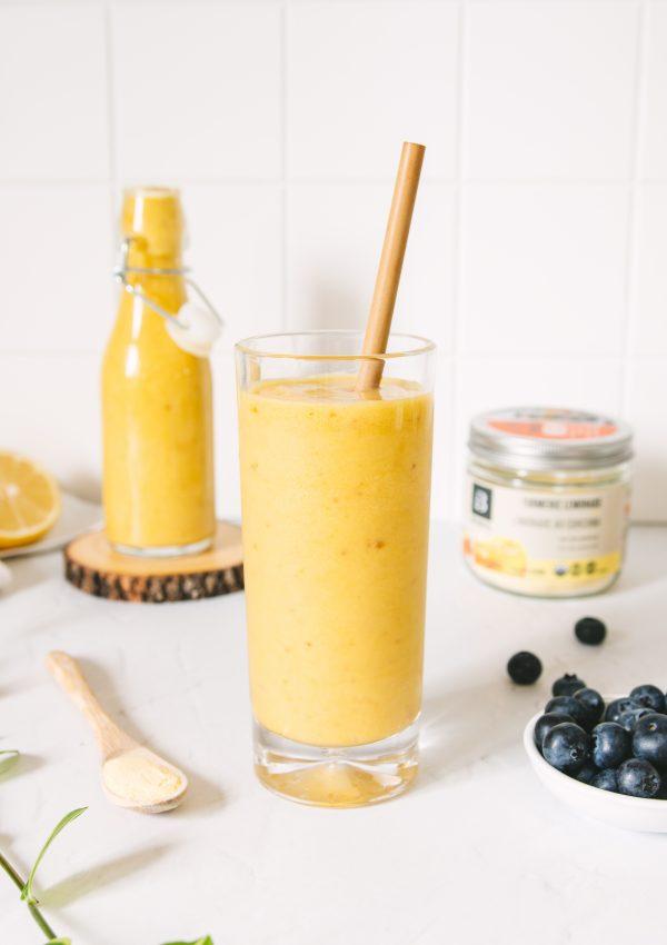 Turmeric Lemon Smoothie