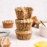 Vegan Gluten Free Lemon Poppy Seed Muffins