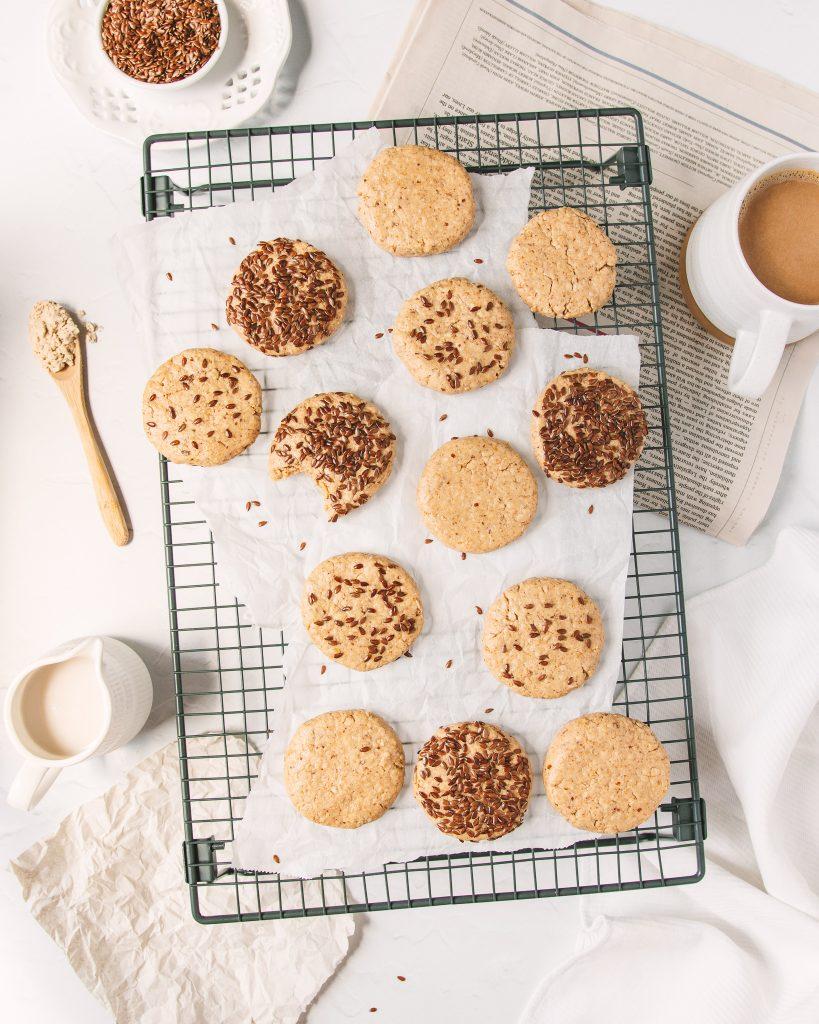 Tahini Oat Breakfast Cookies