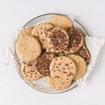 No Bake Tahini Oat Breakfast Cookies