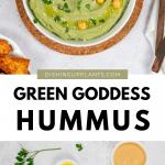 Vegan Green Goddess Hummus