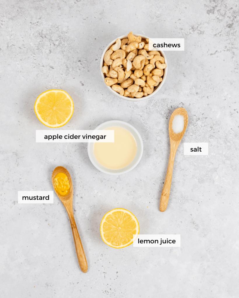 cashew sour cream ingredients