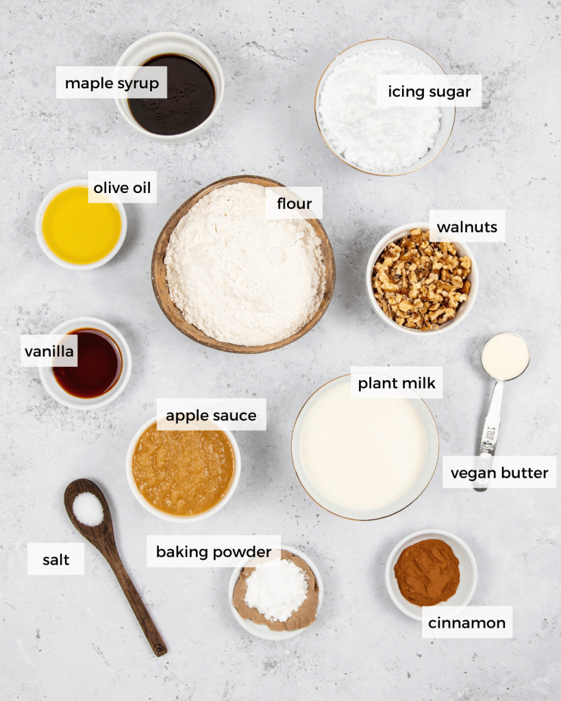 vegan applesauce donuts ingredients
